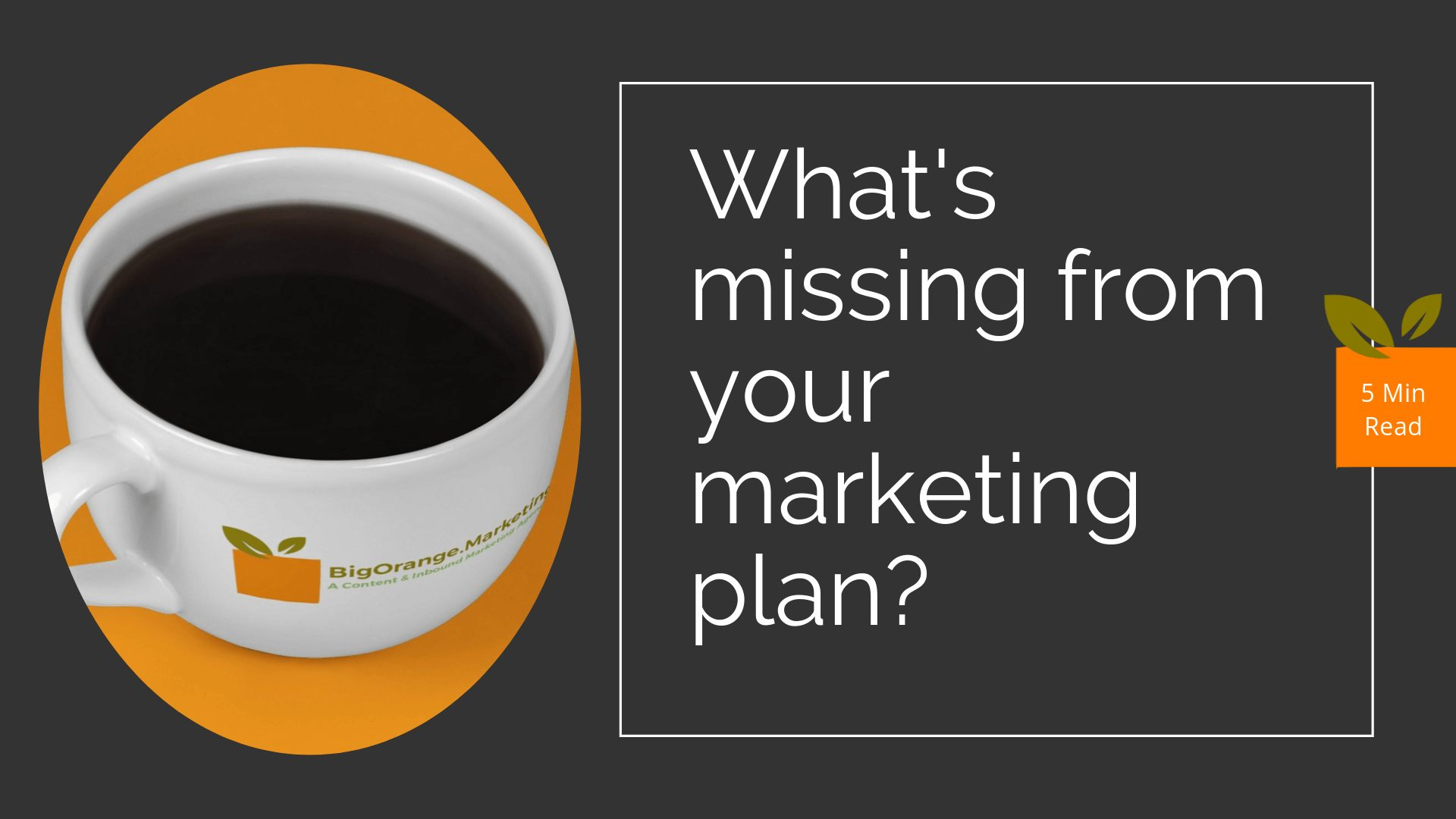 5 Things Missing From Your Marketing Plan or Website